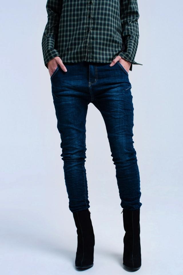 Skinny jeans in 7/8 cut