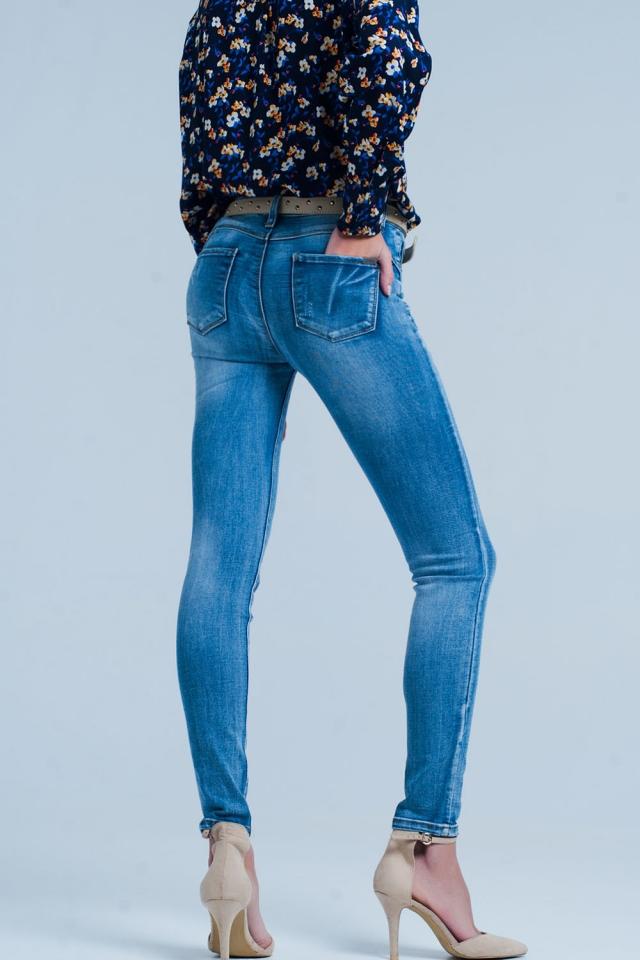 high waist Push Up Skinny Jean