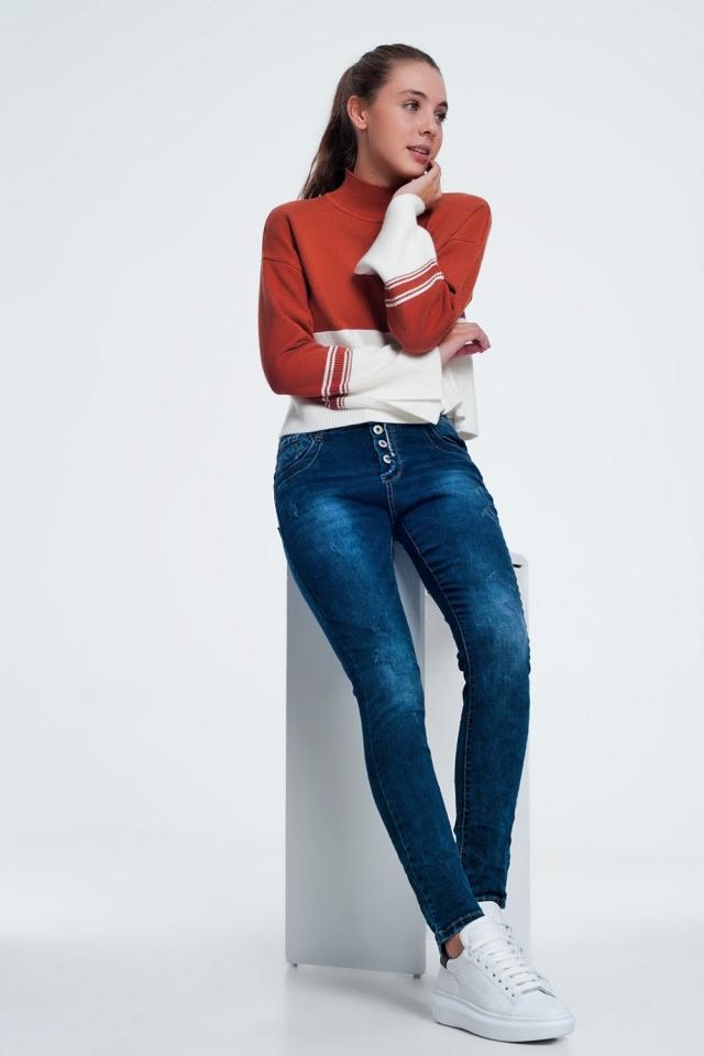 Caldera turtleneck sweatshirt